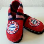 Filzschuhe Bayern München – Strickanleitung