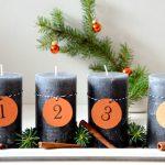 3 x Low Budget Adventskranz – DIY Anleitung