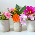 Betonvase DIY – oder auch: Hole Dir den Herbst nach Hause